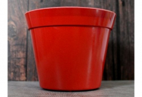 Classic Plant Pot - Red