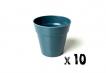 10 x Small Classic Planter - Navy Blue