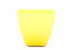 Small Square Planter - Yellow