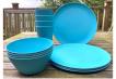Dining Set for Four - Light Blue