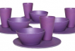 Dining Set for Four - Purple