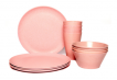 Dining Set for Four - Light Pink
