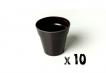 10 x Small Classic Planter - Black