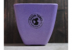 Small Square Planter - Purple