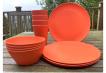 Dining Set for Four - Orange