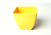 Small Square Planter - Yellow