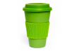 Green Cup with Light Green Silicone