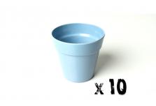 10 x Small Classic Planter - Light Blue