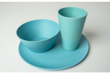 Individual Dining Set - Light Blue