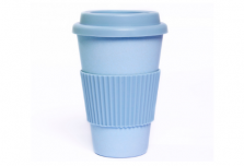 Sky Blue Cup with Sky Blue Silicone