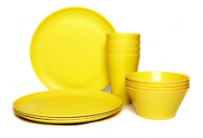 Dining Set for Four - Yellow