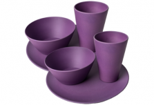 Dining Set for Two - Purple