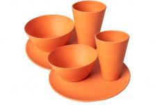 Dining Set for Two - Orange