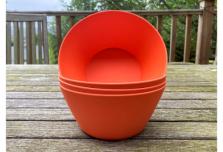 Bowl x 4 - Orange