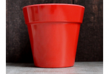 Small Classic Planter - Red