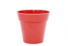 Small Classic Plant Pot - Red