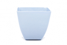 Small Square Planter - Light Blue