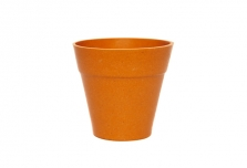 Mini Classic Plant Pot - Pumpkin Orange
