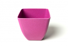 Small Square Planter - Pink