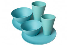Dining Set for Two - Light Blue