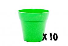 10 x Small Classic Planter - Green