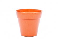 Small Classic Plant Pot - Bright Orange
