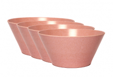 Bowl x 4 - Light Pink