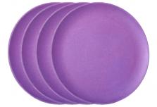 Large Plate x 4 - Purple