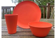 Individual Dining Set - Orange