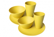 Dining Set for Two - Yellow