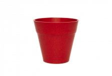 Mini Classic Plant Pot - Red