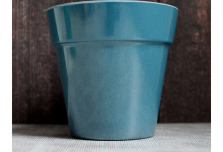 Small Classic Planter - Navy Blue