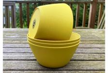 Bowl x 4 - Yellow