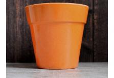 Small Classic Planter - Pumpkin Orange