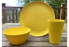 Individual Dining Set - Yellow