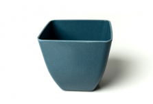 Small Square Planter - Navy Blue