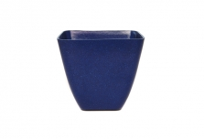 Small Square Planter / Pot Cover - Navy Blue
