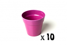 10 x Small Classic Planter - Pink