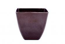 Small Square Planter - Black
