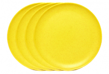 Large Plate x 4 - Yellow
