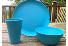 Individual Dining Set - Light Blue