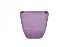 Small Square Planter / Pot Cover - Purple