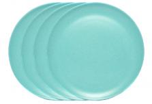 Large Plate x 4 - Light Blue