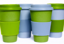 Set of 4 Coffee Cups - Mixed