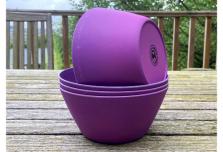 Bowl x 4 - Purple