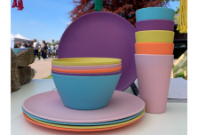 Rainbow Dining Set for Five
