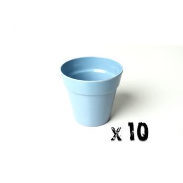 10 x Small Classic Planter - Light Blue Image