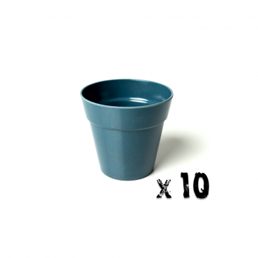10 x Small Classic Planter - Navy Blue Image