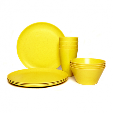 Dining Set for Four - Yellow Image