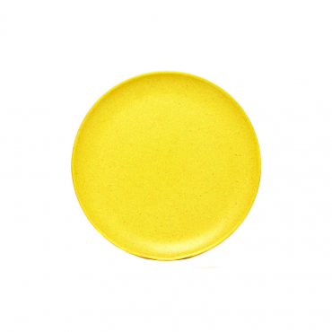 Large Plate - Yellow Image